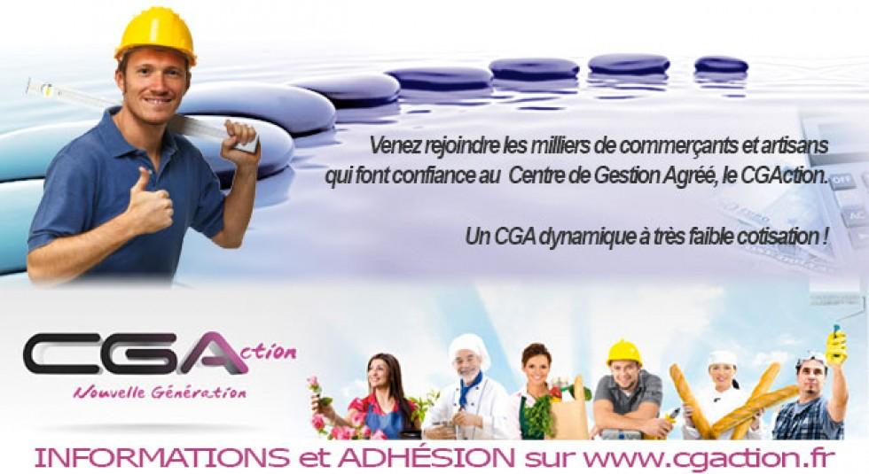 adhesion cga artisan commercant